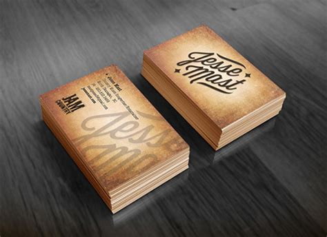 fantastic business cards  musicians naldz graphics