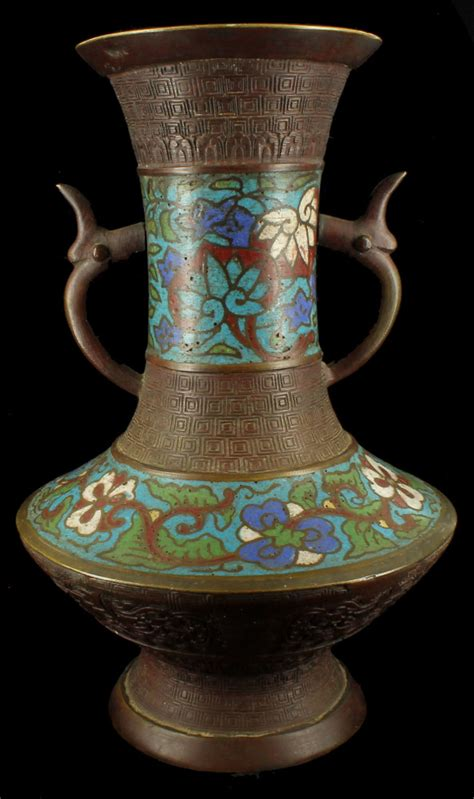 antique brass vase antique chleve brass vase l base bronze 1257
