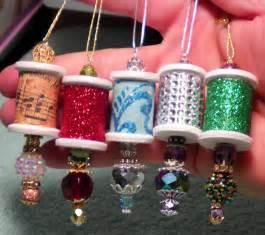 diy beautiful ornate wooden spool christmas ornaments easy youtube