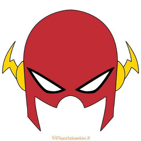 maschere  supereroi fai da te da stampare  bambini