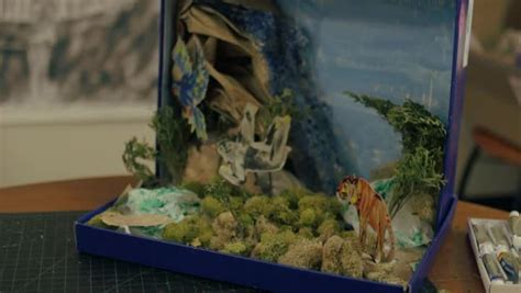 video jungle diorama project ehow