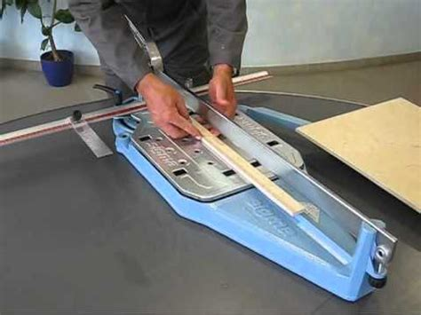 sigma 3cm dry tile cutter youtube
