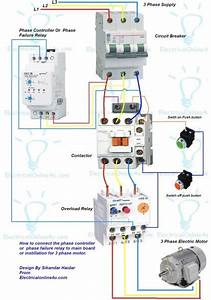 Wiring Diagram Of Magnetic Contactor
