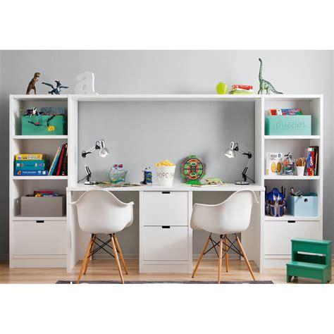 meuble rangement chambre ensemble bureau bibliothèque et caisson de