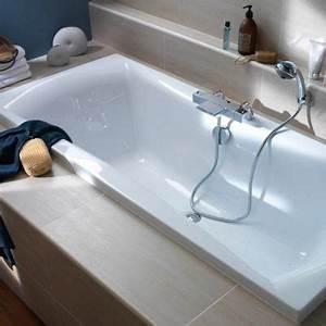 Habillage De Baignoire : baignoire 170 x 75 cm kleopatra castorama ~ Dode.kayakingforconservation.com Idées de Décoration