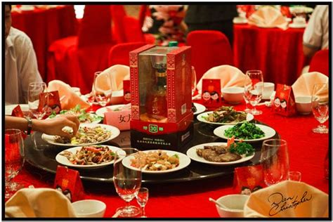 chinese food wedding theme chinese wedding feast table