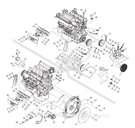 generac   parts diagram  engine