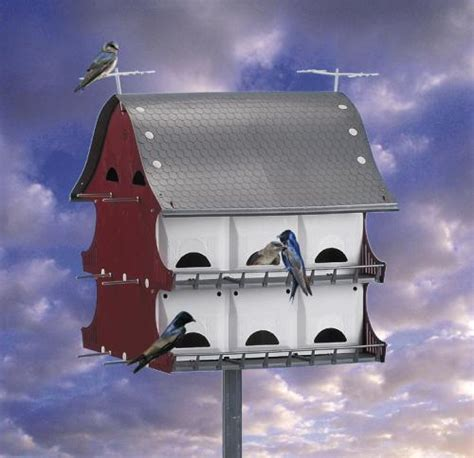 s k 16 family purple martin barn house