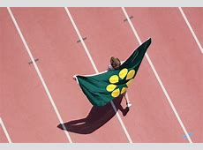 The Golden Wattle flag Logo Design Love