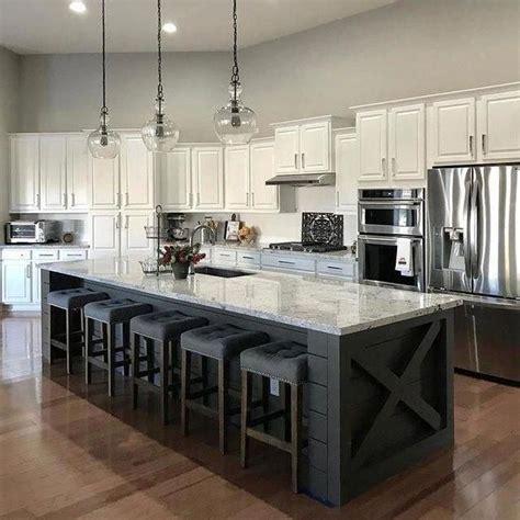 22+ Pleasing Kitchen Interior Island