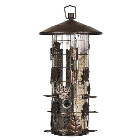 squirrel proof bird feeder home depot pet 174 squirrel be 174 iii feeder for birds