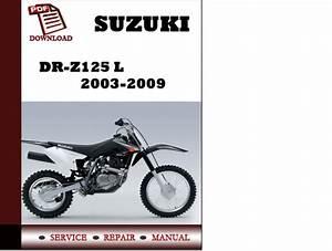 2007 Suzuki Rm 125 Service Manual