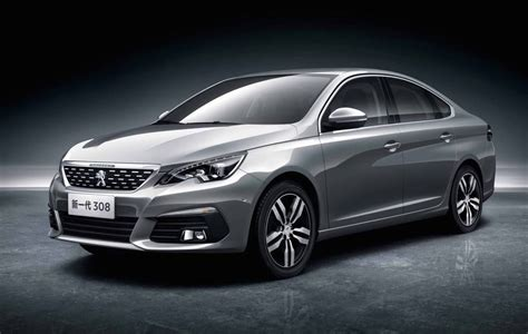 New Peugeot 308 by New China Only Peugeot 308 Sedan 3008 Revealed