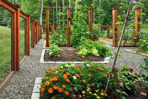 Vegetablegardenfenceideaslandscapeeclecticwith