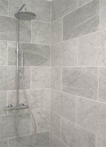 Gray Bathroom Tile Ideas 25 Best Ideas About Large Tile Shower On Shower Niche Master Bathroom Shower And