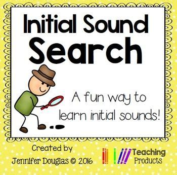 initial sound search worksheets  images initial