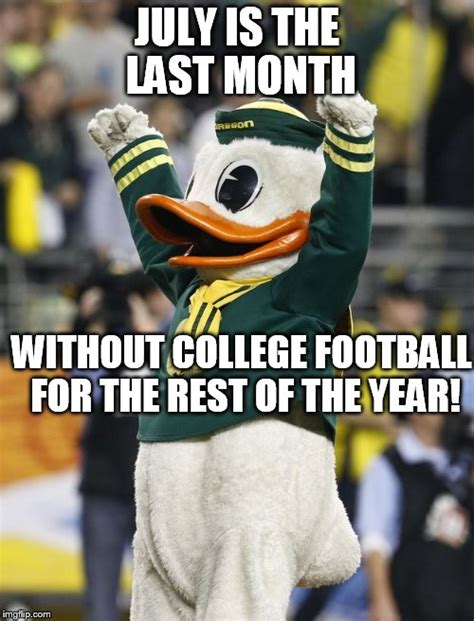 Oregon Ducks Meme - college football imgflip