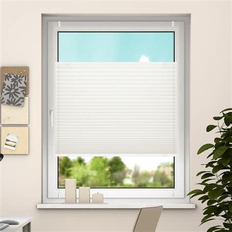 Fenster Sichtschutz Plissee deswin klemmfix plissee fenster t 252 r t 252 ren falt rollo