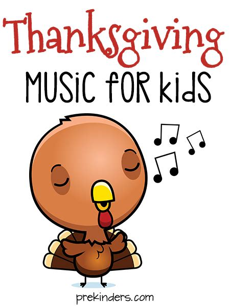 thanksgiving songs for preschool prekinders