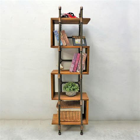 Industrial Etagere by Tucson Modern Industrial Etagere Bookcase Display