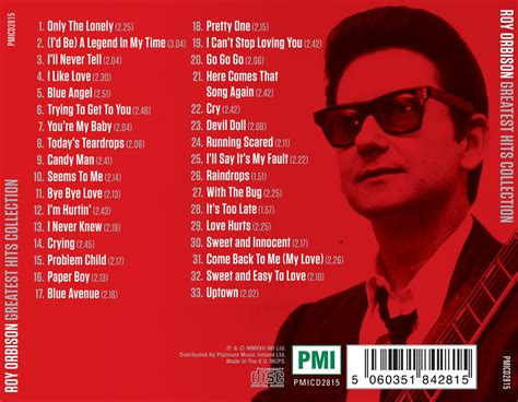 Roy Orbison - Greatest Hits Collection - Deluxe Edition 33 ...