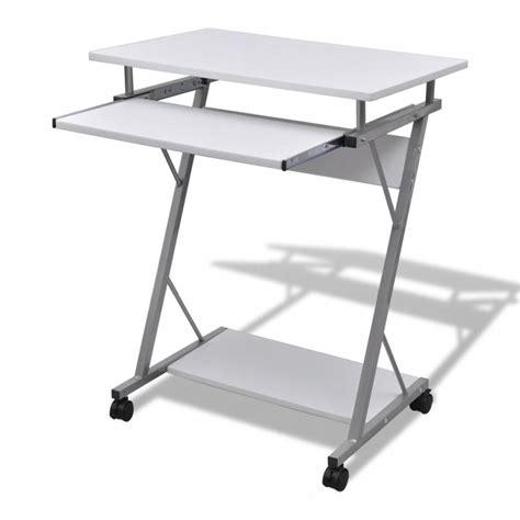 table de bureau acheter table de bureau blanche pour ordinateur pas cher