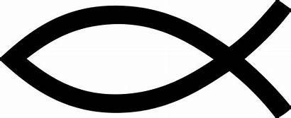 Fish Christian Clipart Symbol Transparent Cross Stickpng