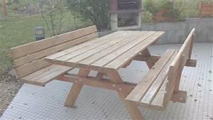Table Jardin En Bois : table jardin bois picnic bricolage table pique nique youtube in table jardin bois picnic ~ Dode.kayakingforconservation.com Idées de Décoration