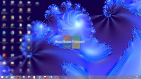 arriere plan du bureau forum windows 7 et windows 8