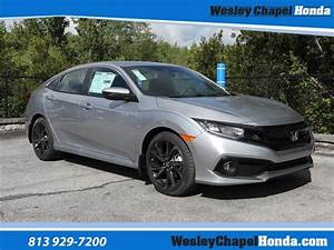 New 2020 Honda Civic Sport Manual 4dr Car In Tampa