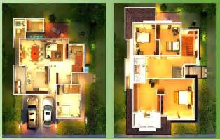 Sle House Designs And Floor Plans by House Plans And Design Modern Zen House Floor Plans