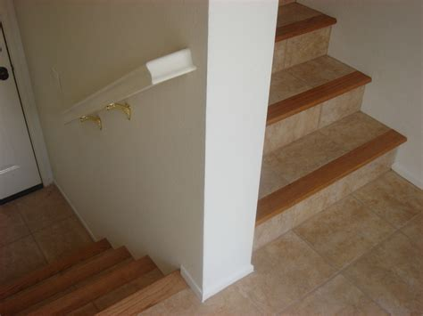 wood stair nosing for tile general contractor contractor services