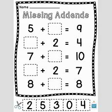 16 Best Images Of Kindergarten Cut And Paste Math Worksheets Missing Numbers  Cut And Paste