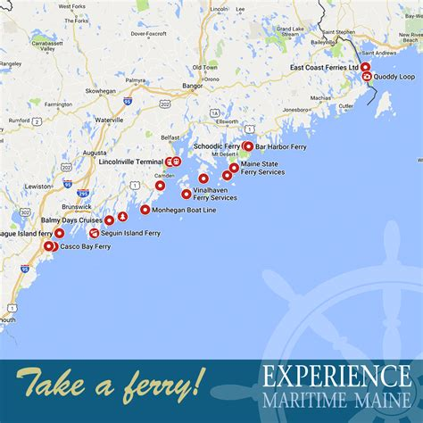 EXPERIENCE MAINE FROM THE WATER - EXPERIENCE MARITIME MAINE