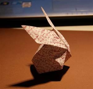 Origami Osterhase Faltanleitung Einfach : wildres faltanleitung origami osterhasen ~ Watch28wear.com Haus und Dekorationen