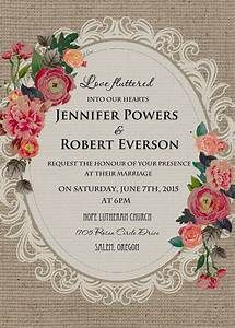 cheap vintage rustic roses wedding invitations ewi397 as With wedding invitation designs old rose