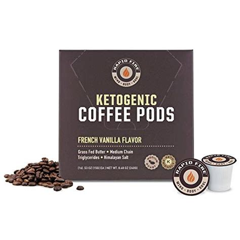 It's loaded with natural antioxidants and fat fighting chlorogenic acid to help supercharge your. Rapid Fire French Vanilla Ketogenic High Performance Keto Coffee Pods, Supports 35046107956 | eBay