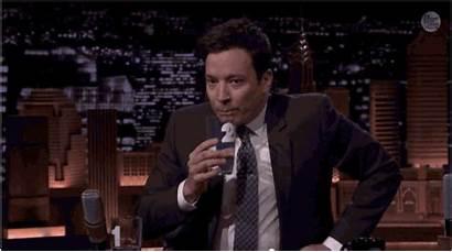 Fallon Jimmy Gates Bill Drinking Water Tricked
