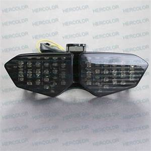 Led Integrated Tail Light For Yamaha Yzf R6 2003 2004 2005