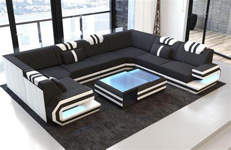 Sofas Designs by Fabric Design Sofa San Antonio U Shape With Led