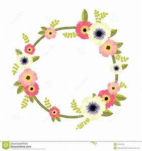 Vector Floral Border Royalty Free Stock Photo - Image ...