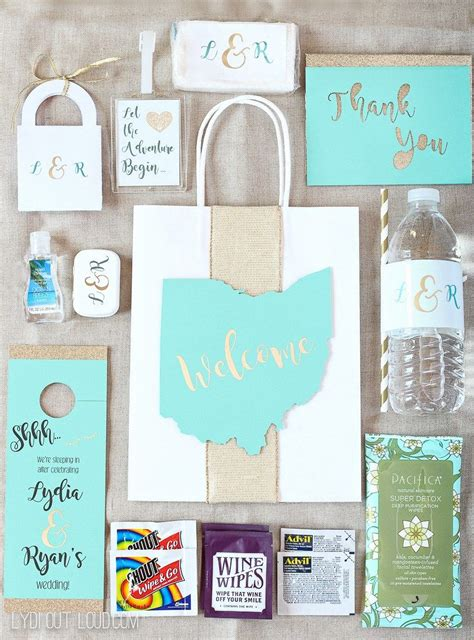 Diy Wedding Guest T Bags And Essentials Wedding Future