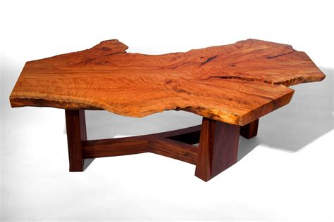what is a live edge table hand made live edge beech slab coffee table by j holtz