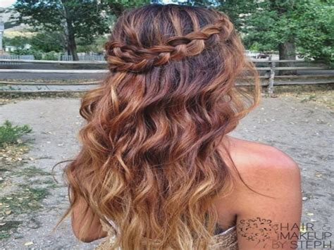 Half Up Half Down Prom Hairstyles For Thin Hair Archives