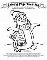 Coloring Penguin Pages Printable Antarctica January Cool Stuff Drawing Sheets Things Christmas Winter Facts Children Step Getcolorings Dulemba Clipart Getdrawings sketch template