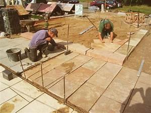 Terrassenplatten Verlegen Auf Splitt : bauzentrum beckmann naturstein verlegem rtel ~ Michelbontemps.com Haus und Dekorationen