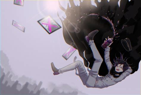 Danganronpa Anime Kokichi Wallpaper Danganronpa V3 Ouma Kokichi Falling