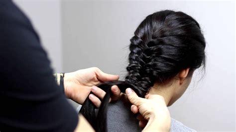 tutorial originale acconciatura  capelli lunghi