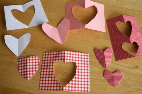 trick  cutting symmetrical hearts   takes