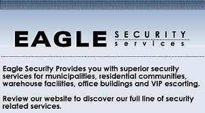 Eagle Security Services - Security Guards Companies